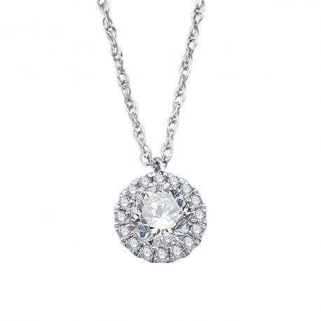 Collier or 750/000 - diamant 0,29ct