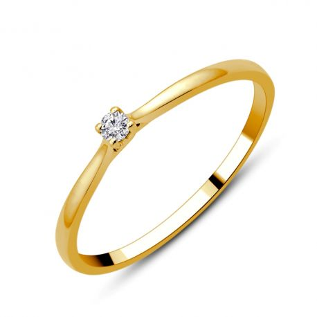 Solitaire Lady 0,03ct