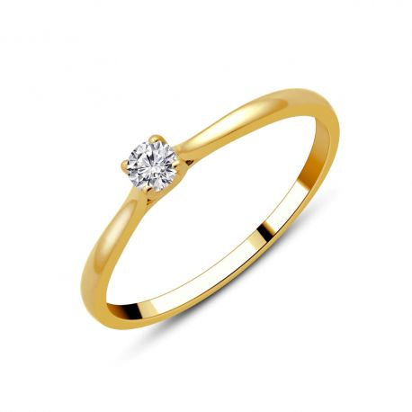 Solitaire Marie 0,09ct