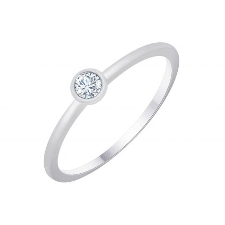 Solitaire The One 0,10 Carats