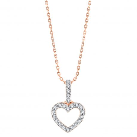 COLLIER COEUR EVER