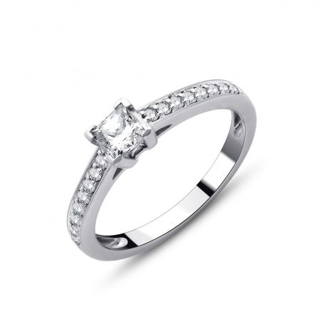 SOLITAIRE ALICE 0,46CT