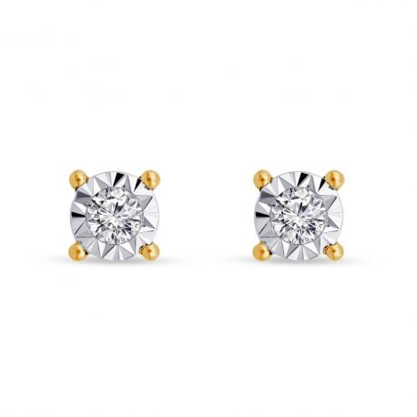 Puce diamants pastillés Sonia 0,13ct