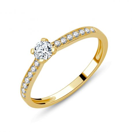 SOLITAIRE AIMY 0,34CT