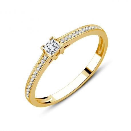 SOLITAIRE ALICE 0,14CT