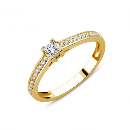 SOLITAIRE ALICE 0,22CT