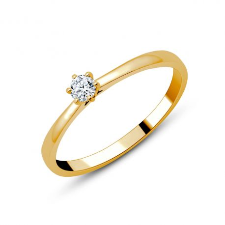 Solitaire diamants Camilla 0,10ct