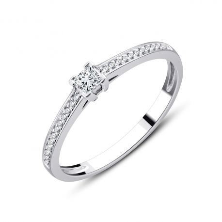 SOLITAIRE ALICE de 0,16ct à 0,46ct